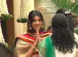 Aishwaryas Baby Shower Ceremony