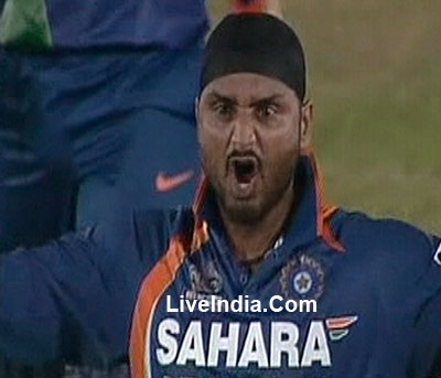 Harbhajan Singh Aggression