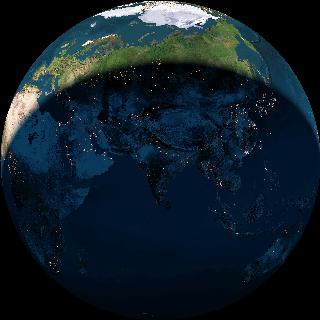 Live Earth From Space - Satellite image of earth live