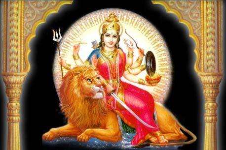 Hindu Goddess Devi Durga Maa Photo.