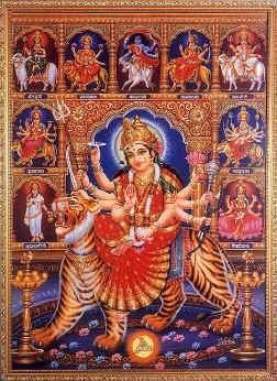 >>!! Maa in Nine forms - Nav-Durga !!<< Navdurga