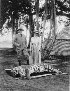 Hunting by British in India