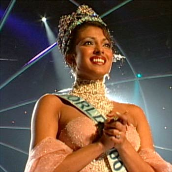 Priyanka Chopra, a Miss World 2000