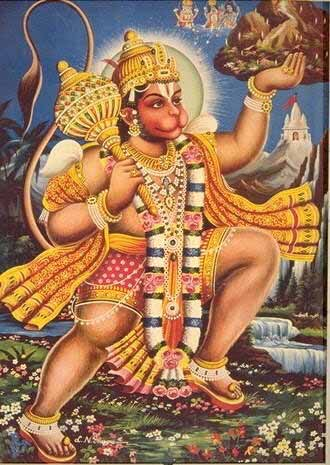 Hanuman too goes