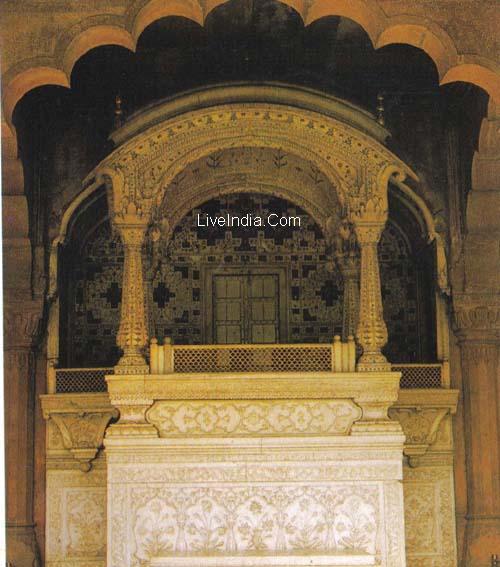 Diwan I Aam Red Fort Delhi