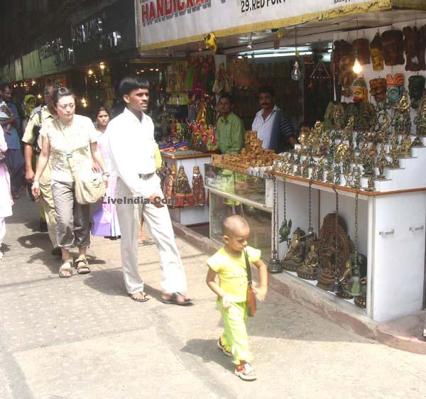Meena Bazar Red Fort Delhi