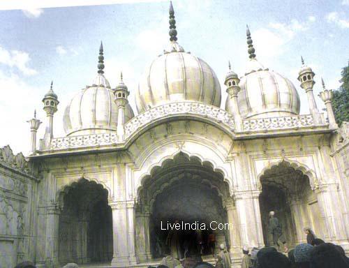 Moti Masjid Red Fort Delhi